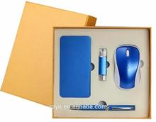 Promotion Luxury Pen Set And USB Flash Drive With Custom Logo Gifts For Customers