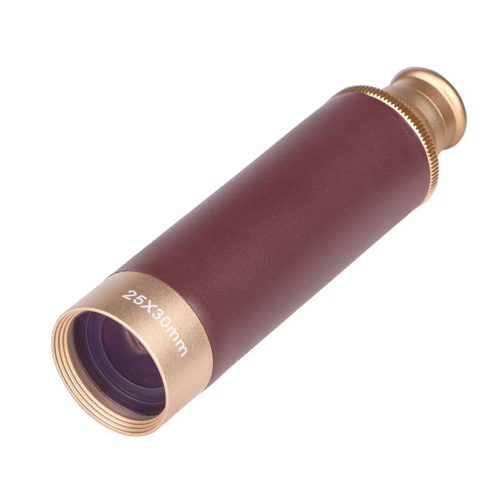 thermal Pirate Brass Telescope 25x30 Zoom Monocular Telescope Low light night vision for adults