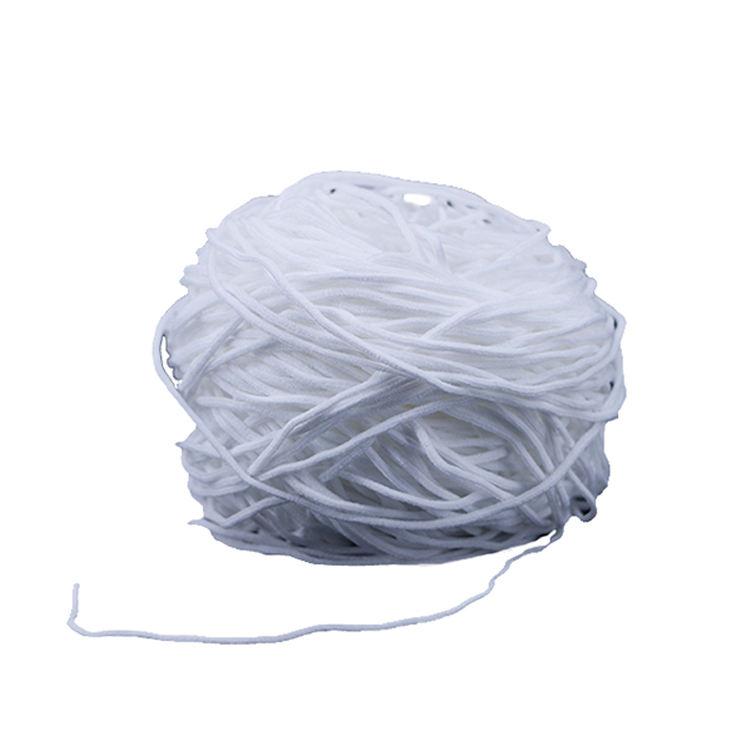 Ajustable correa de algodón máscara colgante oído cuerda 3 capas elástico gancho para la cara máscara