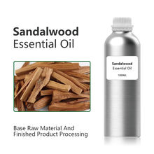 Sandalwood Essential Oil 10ml high quality brown glass bottle Sandalwood essential fragrance oil