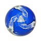 Hot selling official size 5 blue football soccer ball in bulk