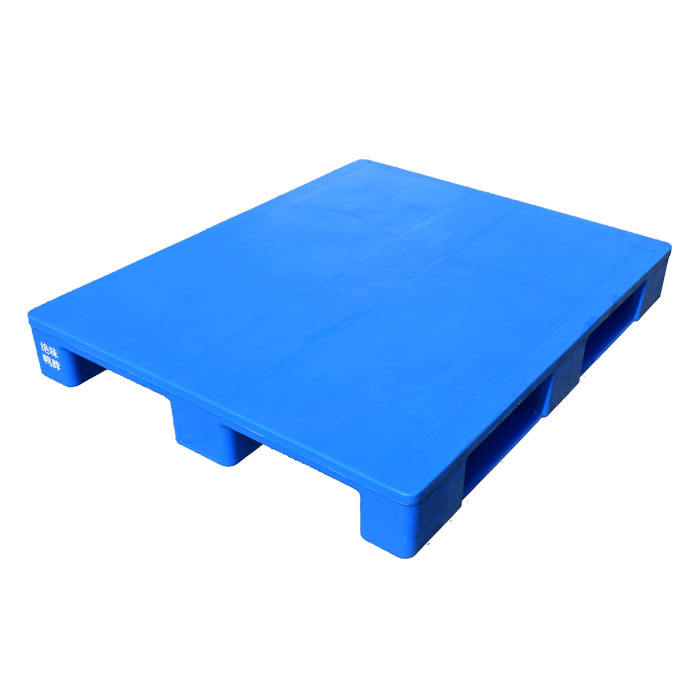 Heavy duty reusable virgin HDPE hard solid flat top closed deck hygienic food grade hygenic plastic pallet