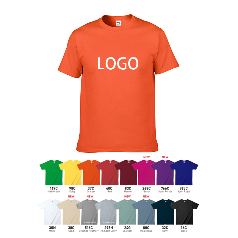 Professional OEM custom designs 100 cotton screen printed t-shirts factory