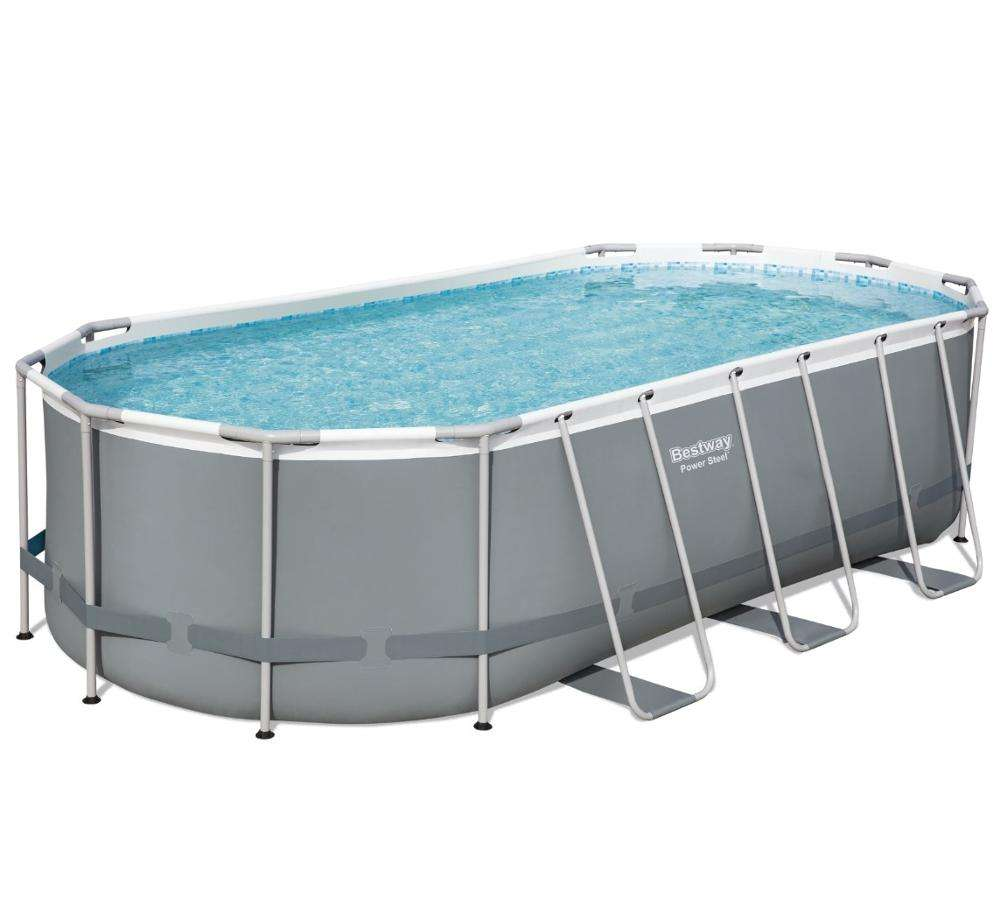 Bestway 56710 18FT*9FT*48IN Power Steel Above Ground Pool Set adult family swimming pool