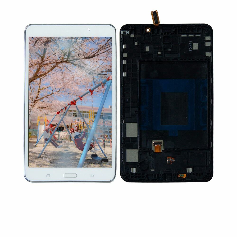 Tablet Lcd For SAMAUNG Galaxy Tab 4 7.0 Wi-Fi T230 LCD Touch Screen Digitizer Assembly For Samsung TAB4 7.0 SM-T230 with Frame