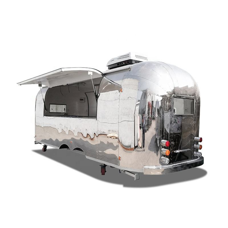 Ukung Nieuwe Stijl Airstream Voedsel Trailer Met Chips Making Machine Kleine Automatische Chips Making Machine In Tamilnadu