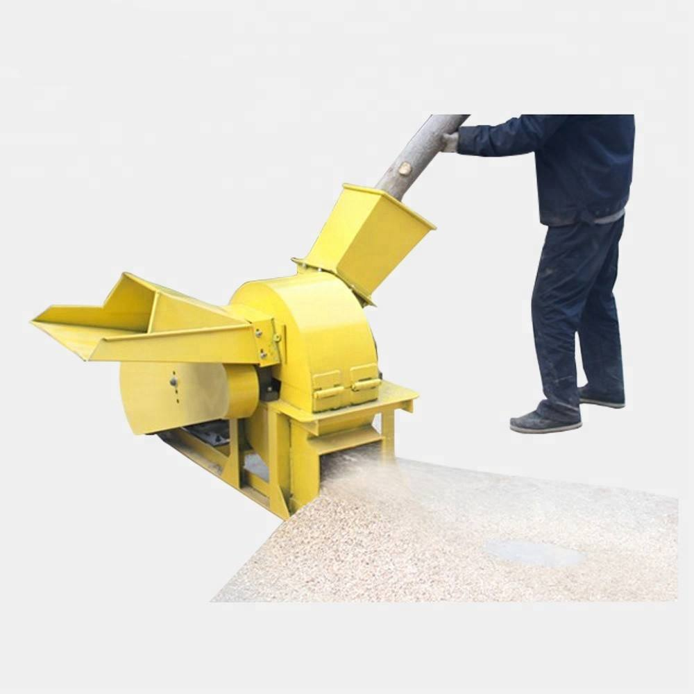 High efficiency tree branch wood crusher wood shredder timber logs crusher