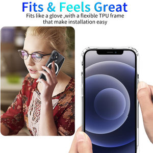 For iPhone 12 Magsafing Wireless Chargers Case Magnetic Holder Shockproof Soft Clear Phone Case For iPhone Charging case