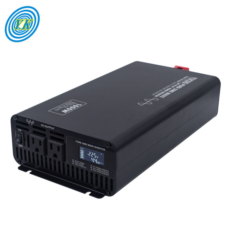Reine sinus welle 12V 24V 48V 60V 72V dc zu 110V 220V 230V dc ac power inverter