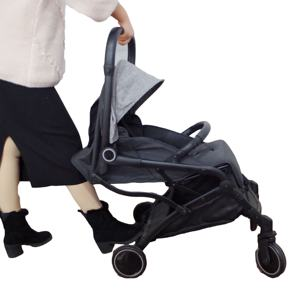 Wholesale 3 in 1 baby prams stroller with 5-point safety belt in factory price