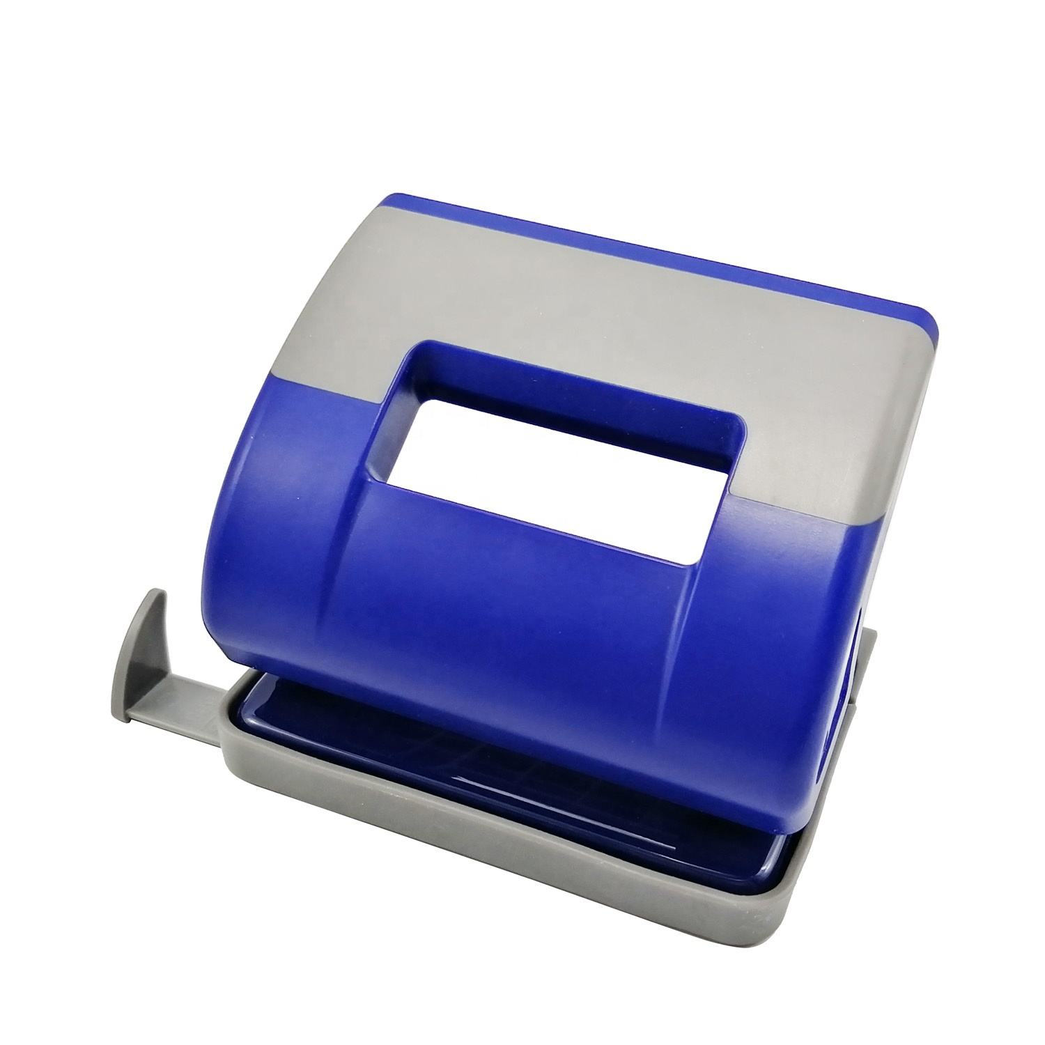 Office manual 30 sheets 80mm paper hand perforadora 2 hole punch