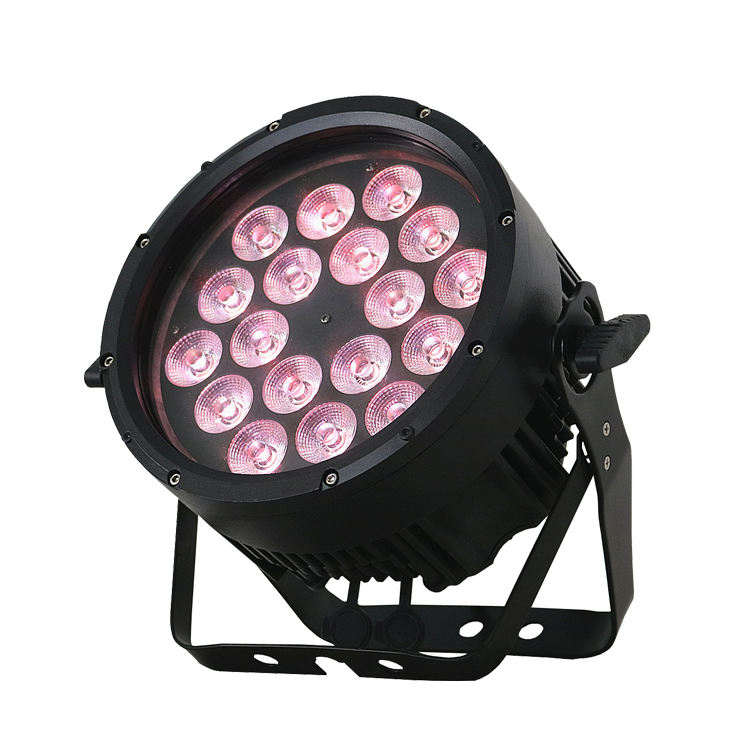 Professional dj disco effect 10w 18PCS led par ip65 waterproof led stage light for live party lighting