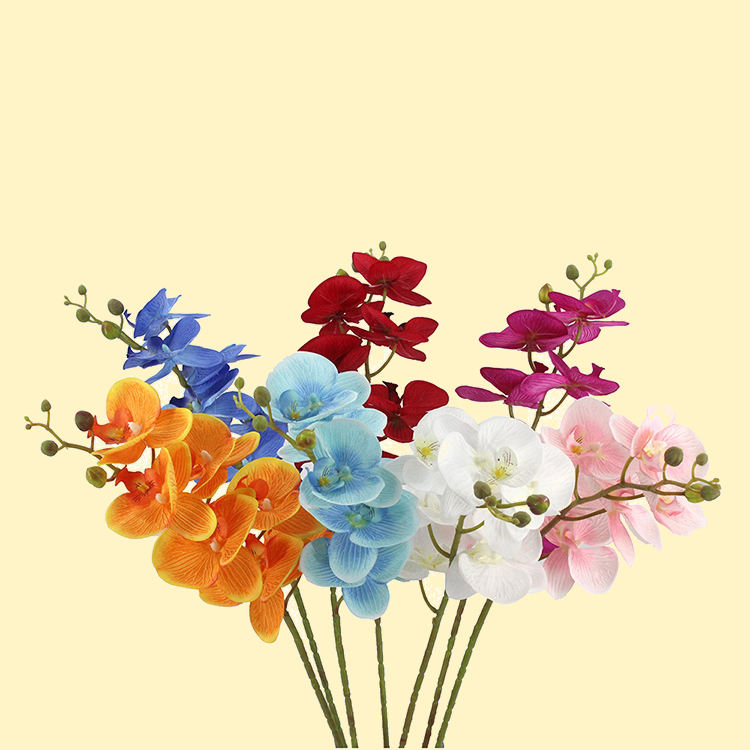 China wholesale high quality real touch artificial orchid flower