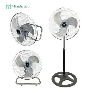 Hot sale 18 inch Electric stand wall floor Aluminum blades 3 in 1 industrial fan