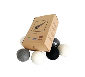 EAST 100% wool fabric dry ball, wool dryer balls by smart sheep, wool balls for dryer set