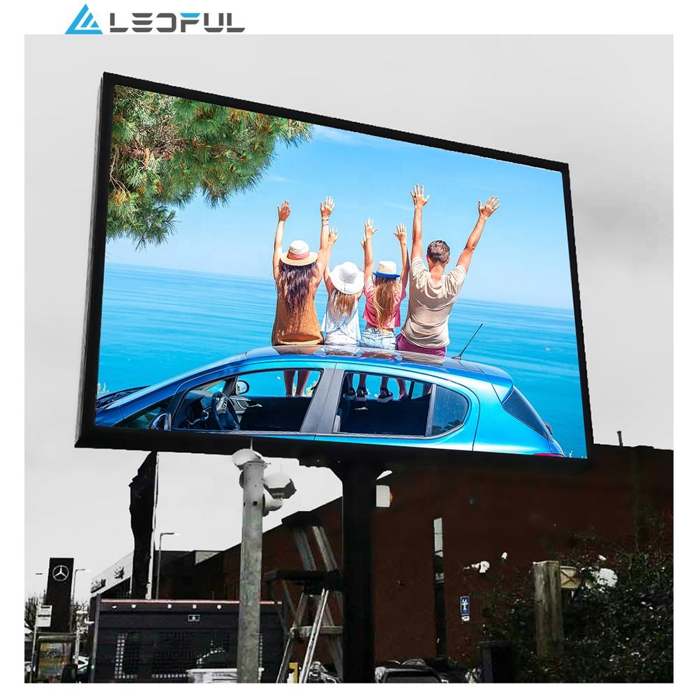 P8 customized easy installation Outdoor Big commercial Advertising LED display screen/ video wall
