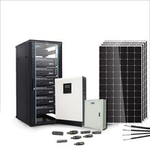 Off grid 3kw home hybrid solar power system solution