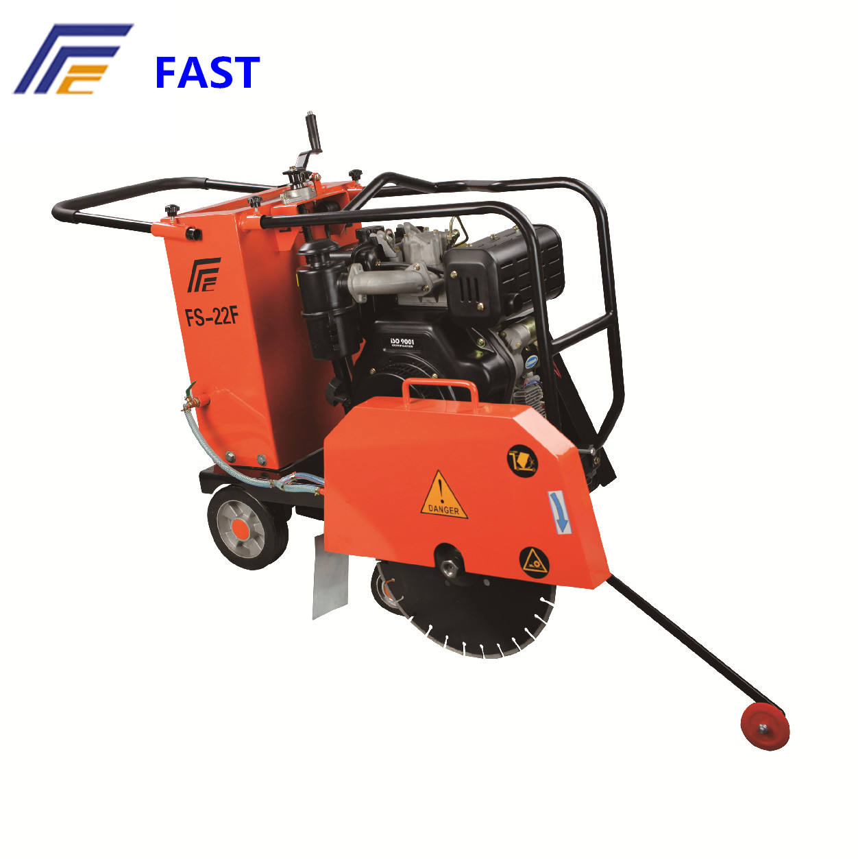 20'' concrete cutting saw machine with 13hp honda engine