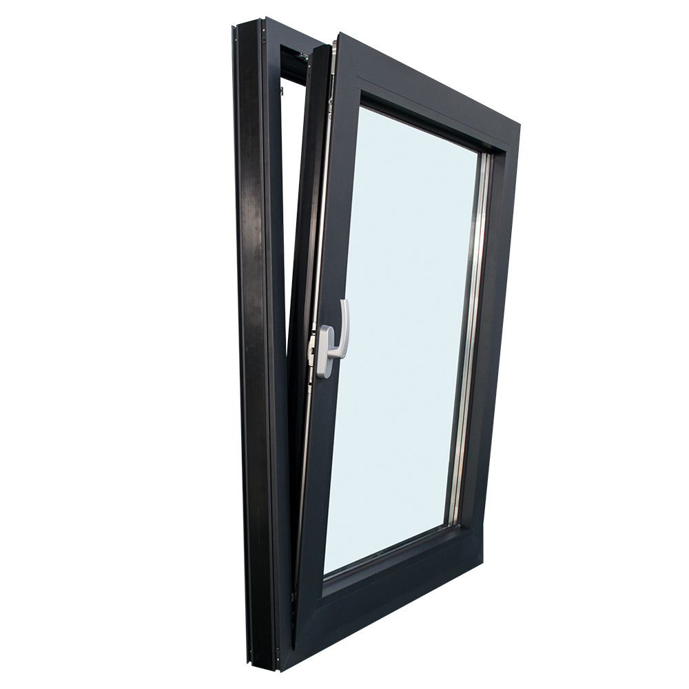 USA/Canada Standard Energy Efficiency aluminum Thermal break tilt and turn window with Double Triple Panel Glazed