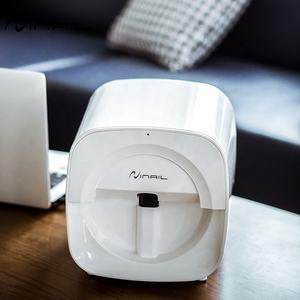 Заводская портативная мини-автоматическая машина для печати ногтей, 3D Wifi Smart Digital Nail Art