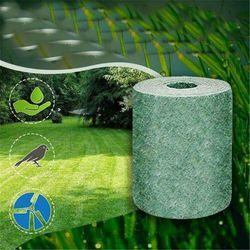 This is a degradable mat without seeds Ecological Blanket Biodegradable Grass Seed Mat Plant Growth Germination Mat Without seed