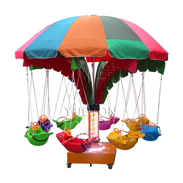 China Goedkope Carnaval Ritten Game Fun Fair Pretparkritten Manege Attractie Mini Kids Swing Carrousel Merry Go Round Voor koop