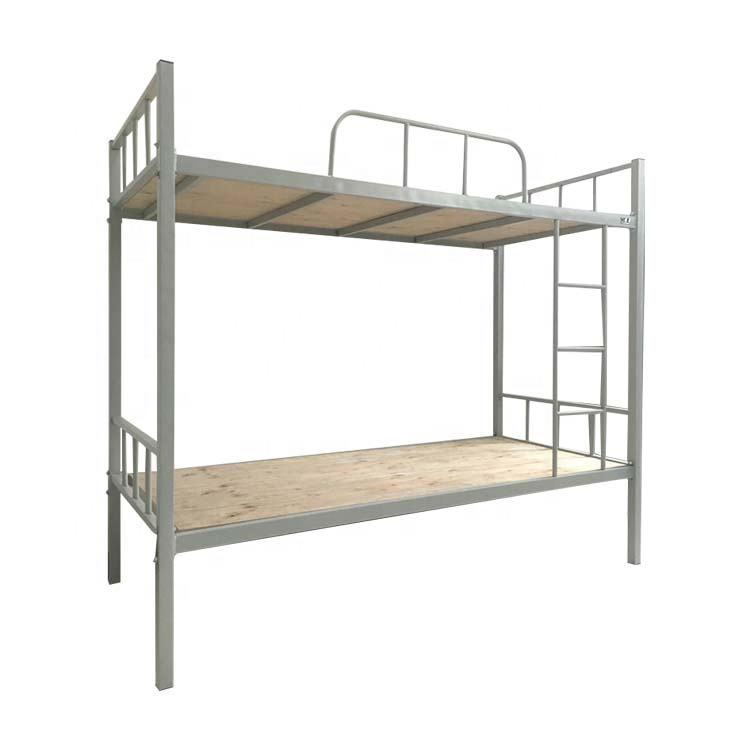 Modern military metal frame children bunk bed for kids