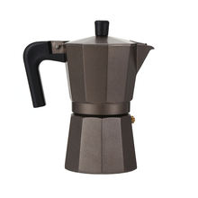 2020 Everich Hot Selling Wholesale high quality  Aluminium moka coffee maker Espresso Coffee Maker Moka Pot