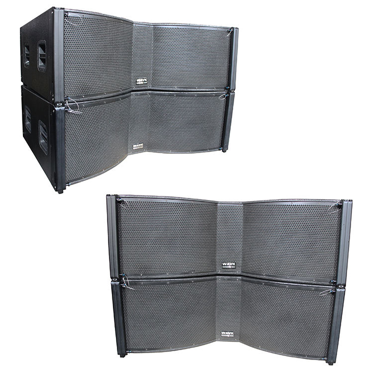 LG-12 line array powered speakers dual 12 inch speaker class d amp module professional audio