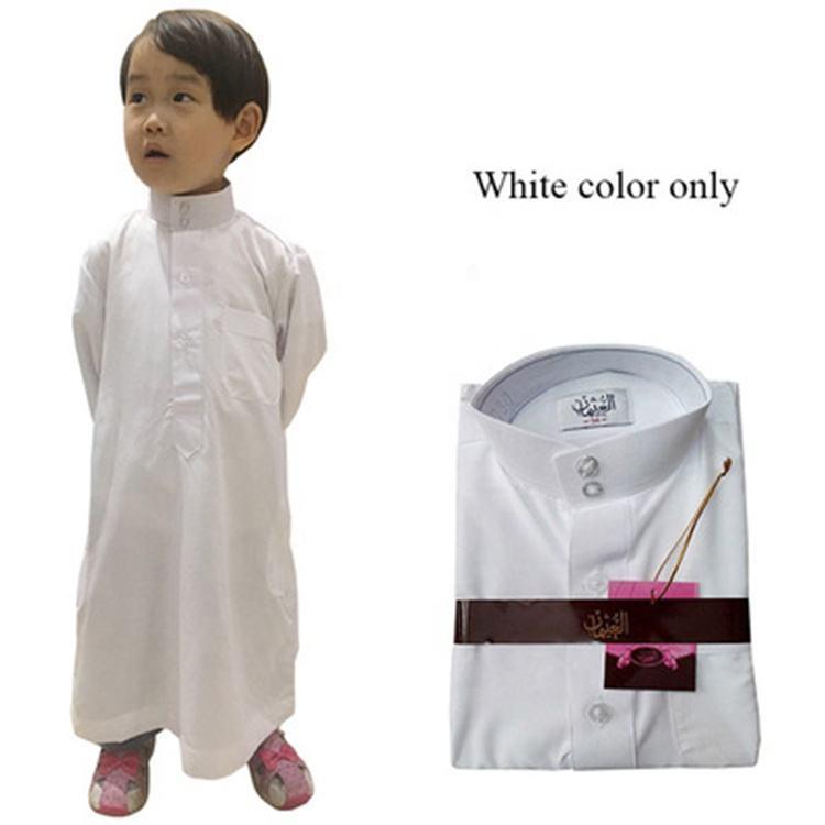 Qatar enfants Arabes Musulman blanc couleur différente abayas tenue abaya 2014