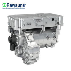 40kw 80kw EV pmsm motor engine + controller + reducer conversion kit drive for 2.6T full electric car logistics vehicle