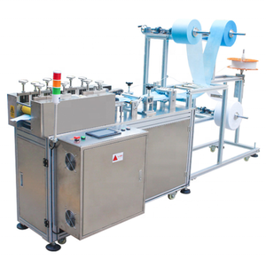 Over 10 years experience semi automatically face mask machine for 3ply surgical disposable mask making