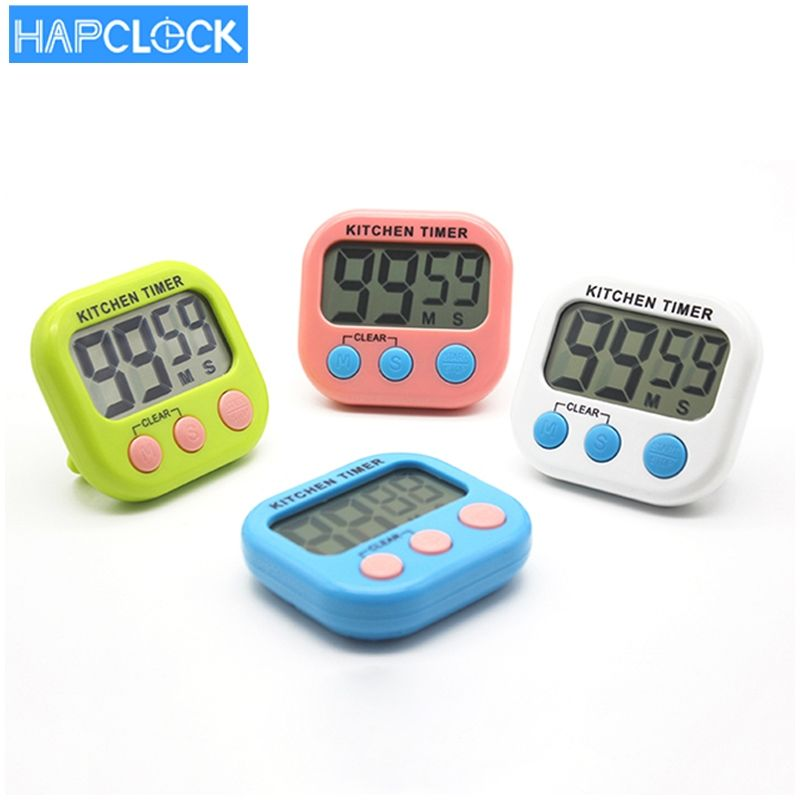 students small cooking feeder timer lab digital lcd screen kitchen countdown timer