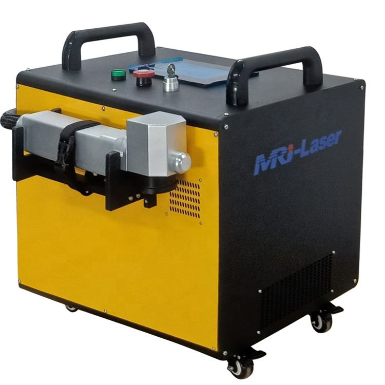 60W 80W low power fiber metal laser/The surface of paint removing laser rust removal metal surface cleaner