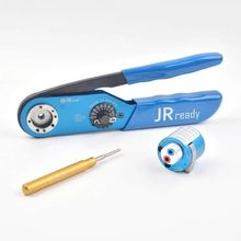 JRready crimping Tool ST2512: Hand Crimp Tool JRD-AF8 &Turret Positioner TH493-D &Removal Tool TL00 apply for Harting Connector