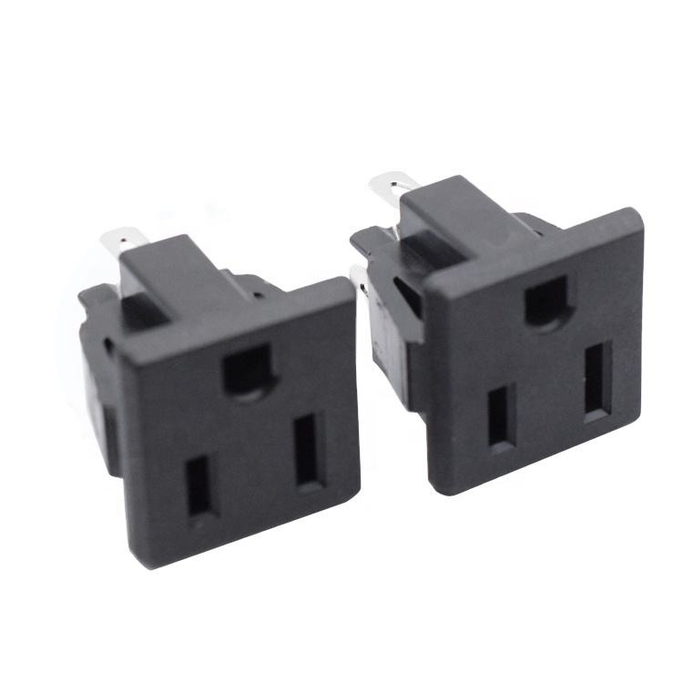 15A 250V Ac Power Inlaat Embedden Uk Plug Vrouwelijke Industriële 3pin Stopcontact Ac <span class=keywords><strong>Outlet</strong></span> Socket