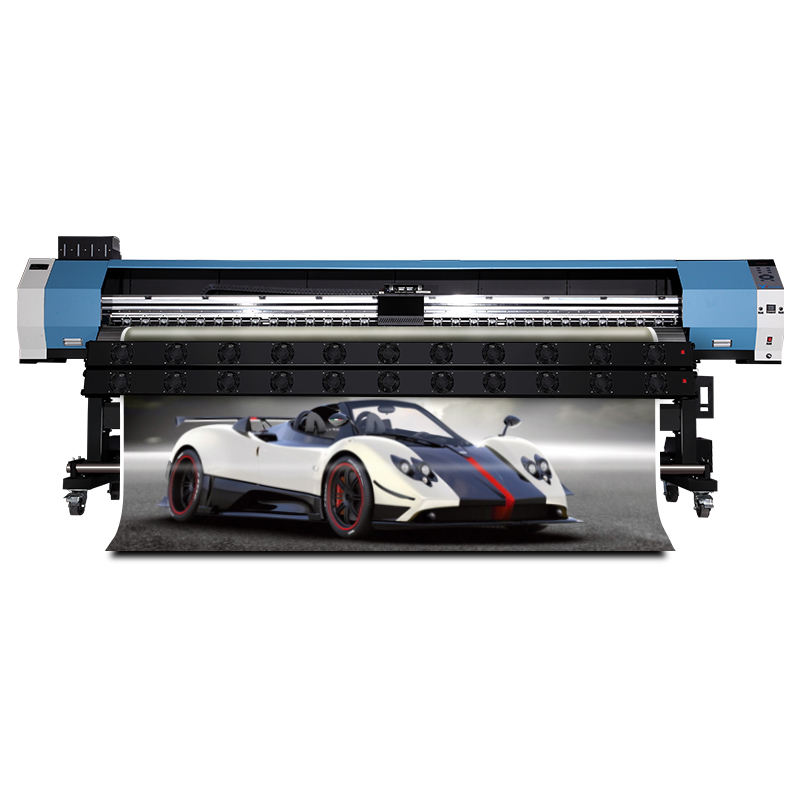 3.2m eco-solvent printer machine to print vinyl stickers Guangzhou