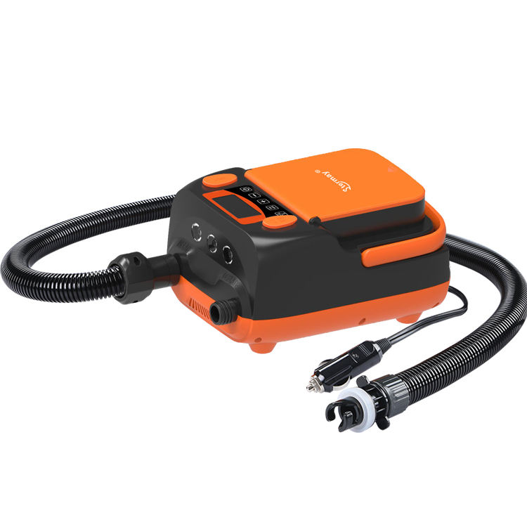 Electric SUP Air Pump Compressor 16PSI Rechargeable ISUP Pump 12V ISUP Electric Pump Inflator/Deflator HT790