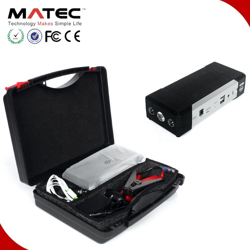 Digital 12V 21000mah jump start battery pack, operating 5V/2A,5V/1A USB output to start vehicles engine, with LCD display