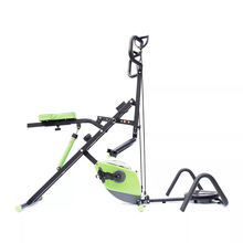 Gym fitness equipment total crunch with bike ,total crunch machine with factory price