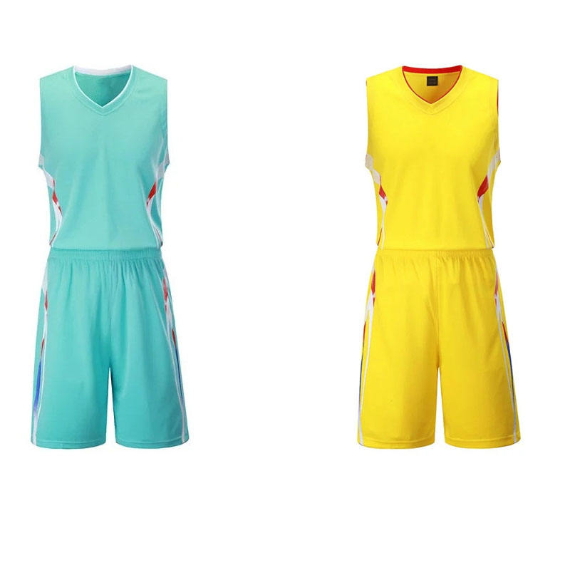 Factory direct price youth custom basketball jersey sets sport clothing uniform design
