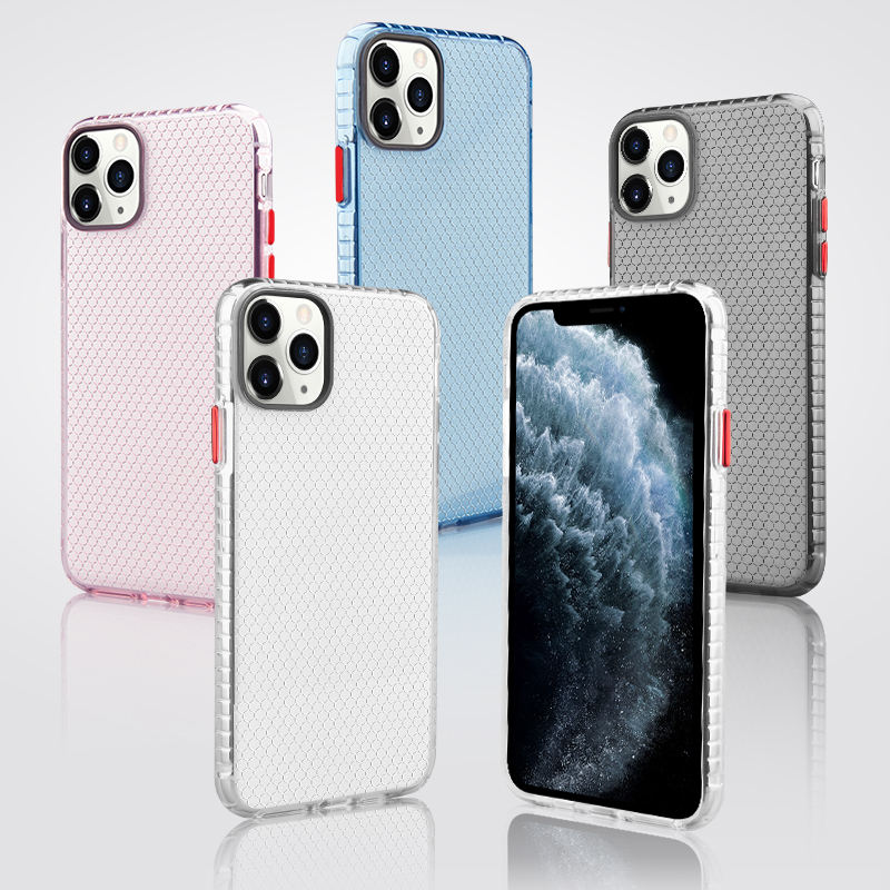 New Transparent Cover Electroplated Ultra Thin Mobile Phone Accessories for iPhone 11/iPhone 11 Pro/iPhone 11 Pro Max 2020