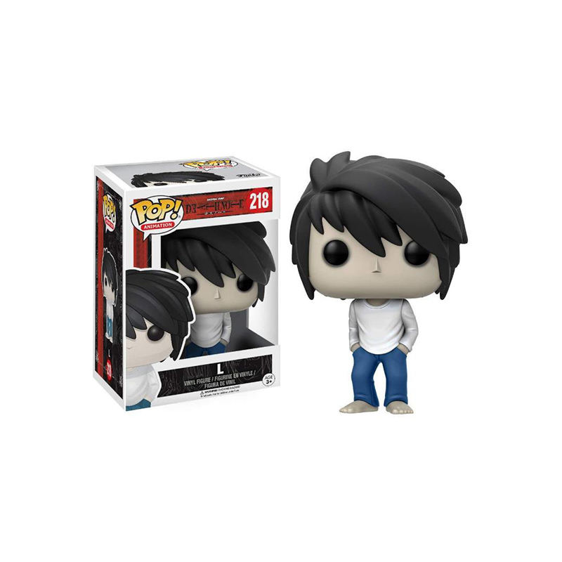 Death Note L 2020 kids toys FUNK POP PVC Action Figures Desktop decoration collection model doll toys wholesale #218