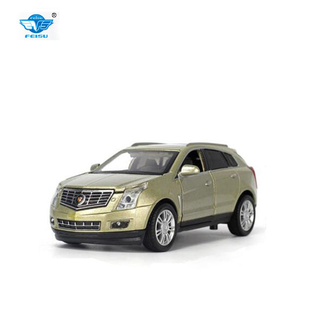 1:32 Cadillac SRX <span class=keywords><strong>2012</strong></span> SUV druckguss auto mit sound und licht pull back funktion auto modell