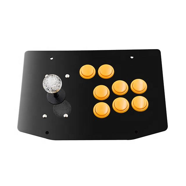 USB Aansluiten Arcade stick Mini Single Player Met 6 Knop Arcade Fighting Stick
