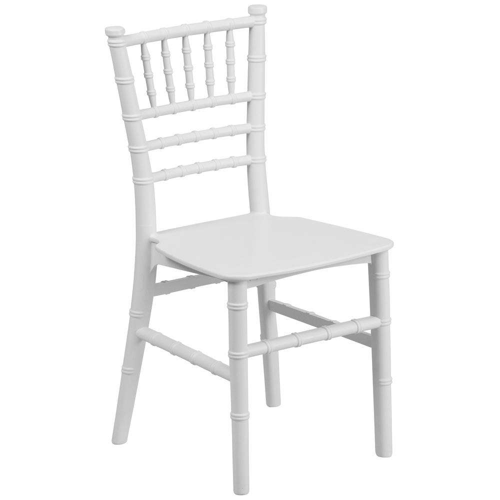 kids modern white plastic acrylic tiffany chiavari children dining chair for school and wedding