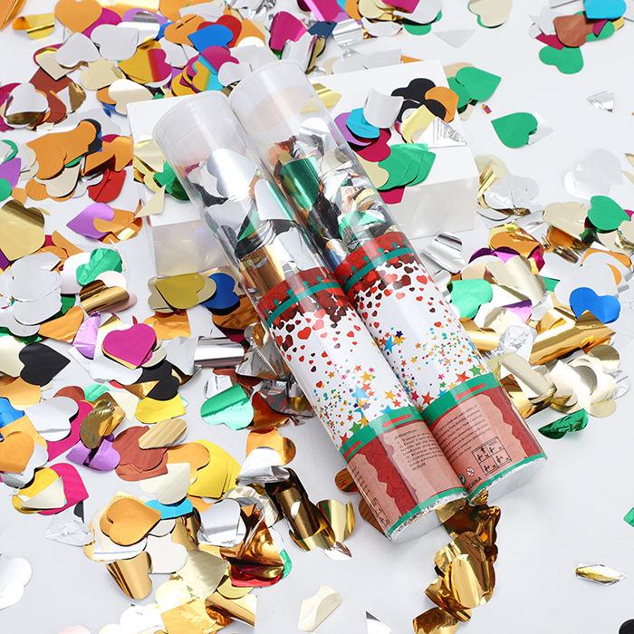 Sinh Nhật 30 CM Bên Popper Phân Hủy Sinh Học Confetti Số Lượng Lớn Đám Cưới