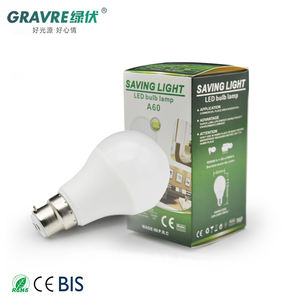 A60 9W led bulbs light lamp energy saving raw material 7W E27 aluminum led bulb