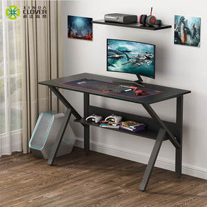 Hot sale furniture black escritorio gamer computer for home