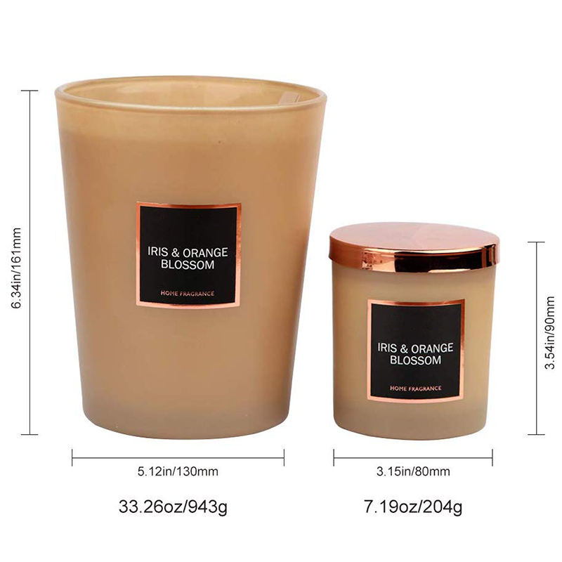Mescente luxury private label scented candles